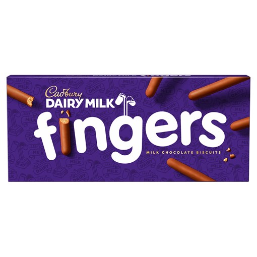 Picture of Cadbury Fingers Chocolate Biscuits 114g