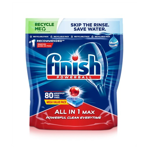 Picture of Finish  All in One Dishwasher Tablets Original 80 Tablets