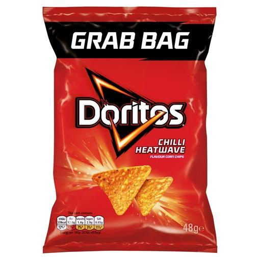 Picture of Doritos Chilli Heatwave Tortilla Chips 48g