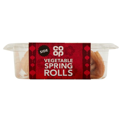Picture of Co-op Vegetable Spring Rolls 100g