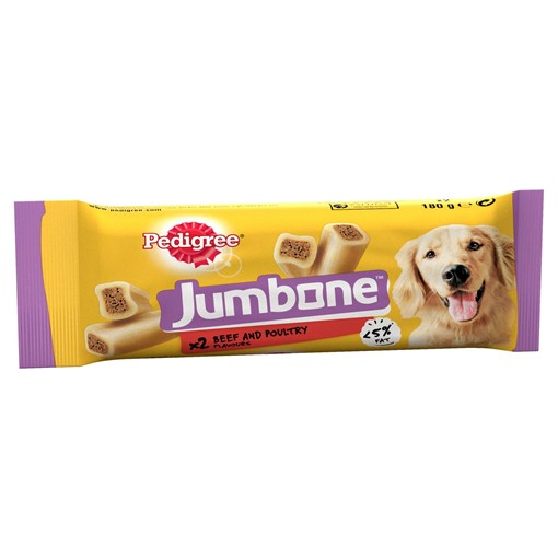 Picture of Pedigree Jumbone Adult Medium Dog Treat with Beef & Poultry 2 Chews 180g