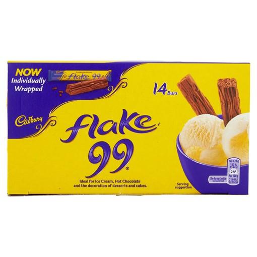 Picture of Cadbury Flake 99 Chocolate Bar 14 x 8.25g