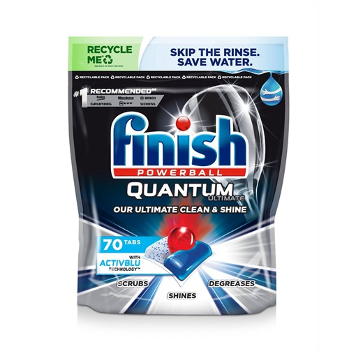 Picture of Finish Powerball Quantum Ultimate 70 Tablets 875g