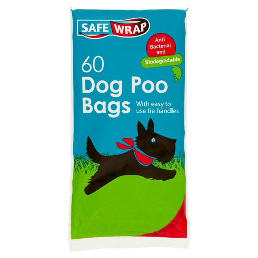 Picture of Safe Wrap 60 Dog Poo Bags