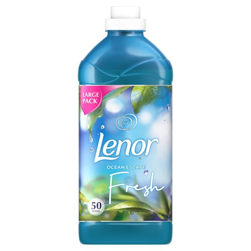 Picture of Lenor Fabric Conditioner With Ocean Escape 2L 55 Washes