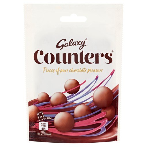 Picture of Galaxy Counters Chocolate Pouch Bag 122g