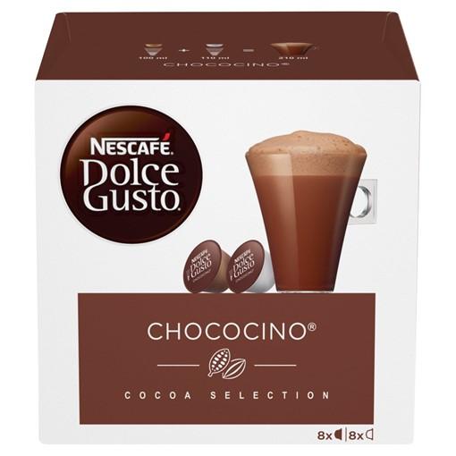 Picture of NESCAFÉ Dolce Gusto Chococino Hot Chocolate Pods, 16 Pods Per Box