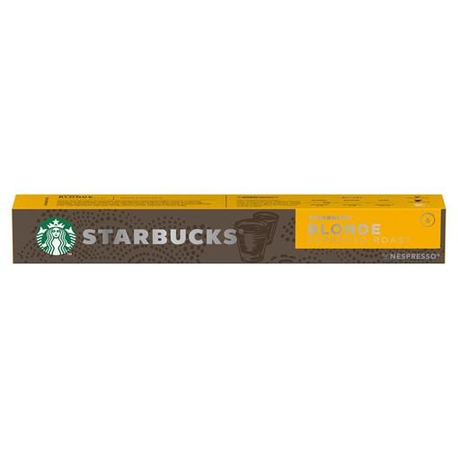 Picture of STARBUCKS by NESPRESSO BLONDE Espresso Roast Coffee Pods, 10 Capsules, 53g