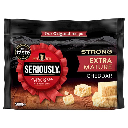 Picture of Seriously Extra Mature Cheddar 500g