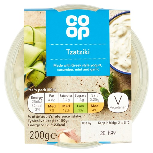 Picture of Co-op Tzatziki 200g