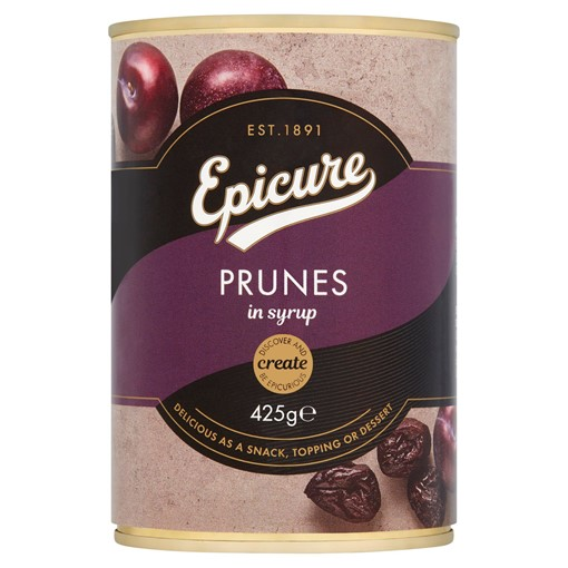 Picture of Epicure Prunes in Syrup 425g