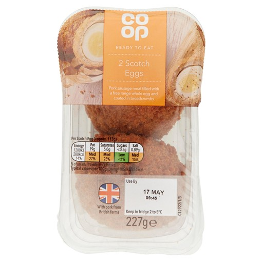 Picture of Co-op 2 Scotch Eggs 227g