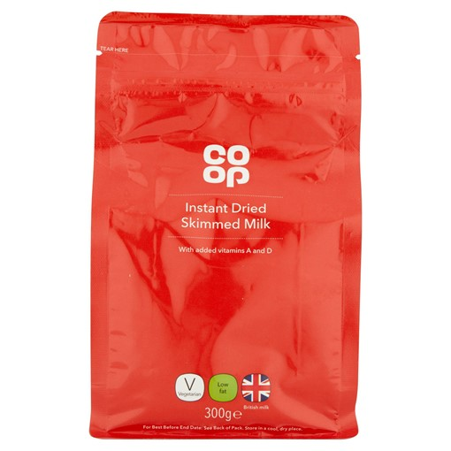 Picture of Co-op Instant Dried Skimmed Milk 300g