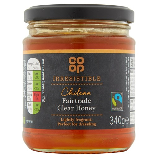 Picture of Co-op Irresistible Floral Flavour Chilean Fairtrade Clear Honey 340g