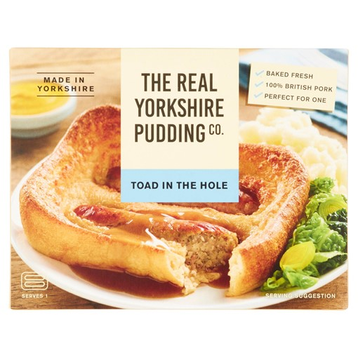 Picture of The Real Yorkshire Pudding Co. Toad in the Hole 190g