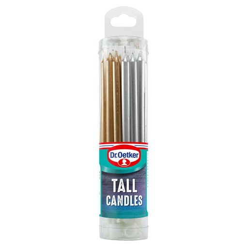 Picture of Dr. Oetker 18 Tall Candles