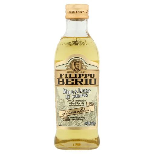 Picture of Filippo Berio Mild & Light in Colour Olive Oil 500ml