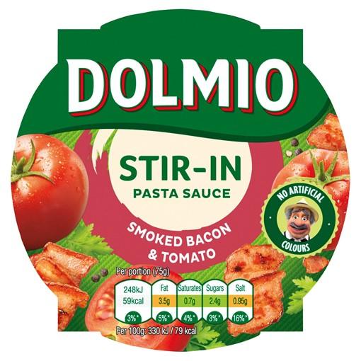 Picture of Dolmio Stir-In Smoked Bacon & Tomato Pasta Sauce 150g