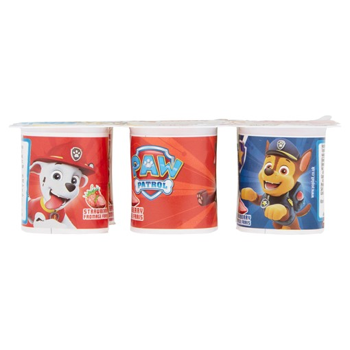 Picture of Paw Patrol Strawberry Fromage Frais Yogurt 6 x 45g