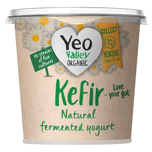 Picture of Yeo Valley Organic Kefir Natural Yogurt 350g