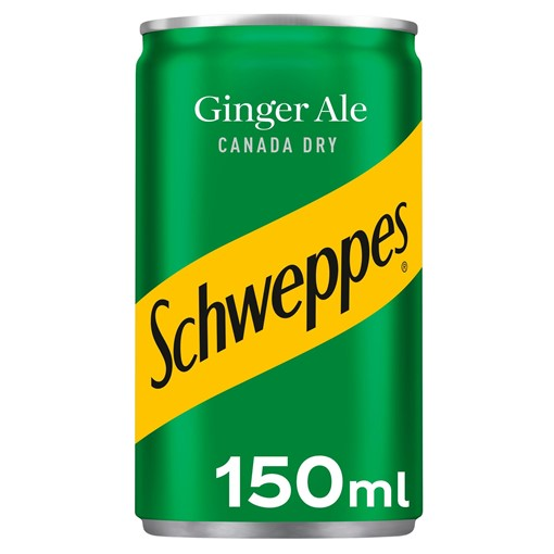 Picture of Schweppes Canada Dry Ginger Ale 150ml