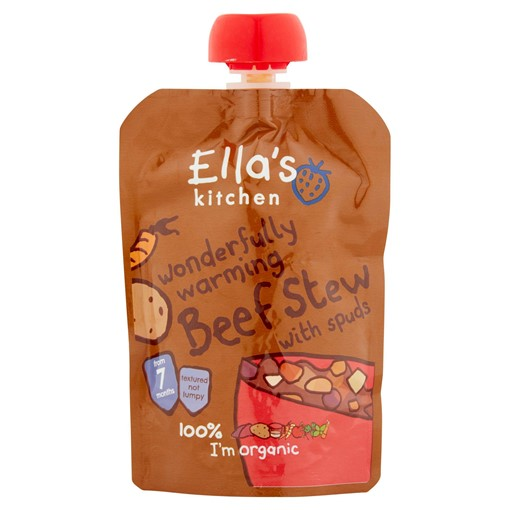 Picture of Ella's Kitchen Organic Beef Stew with Potatoes Pouch 7+ Months 130g