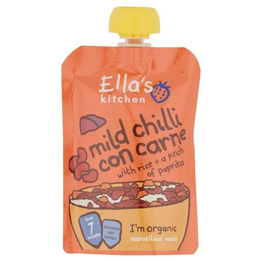 Picture of Ella's Kitchen Organic Mild Chilli Con Carne Pouch 7+ Months 130g