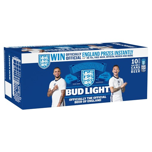 Picture of Bud Light Lager Beer Cans 10 x 440ml