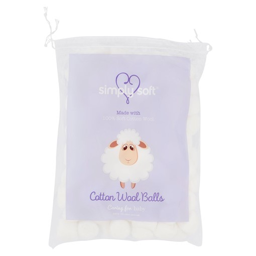 Picture of Simply Soft 100 Cotton Wool Balls