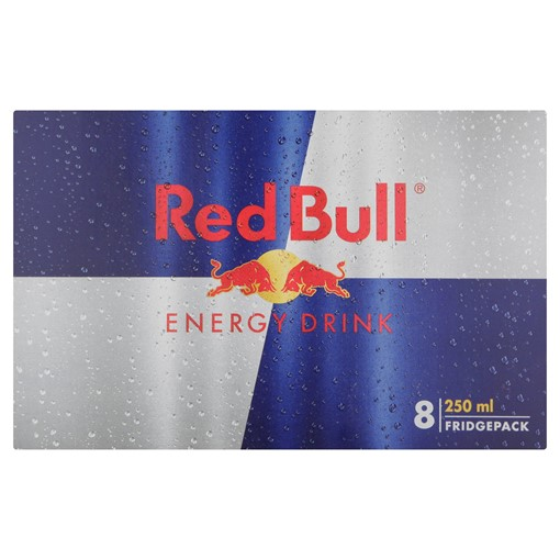 Picture of Red Bull Energy Drink, 250ml (8 Pack)
