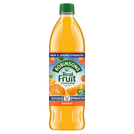 Picture of Robinsons Double Strength Orange No Added Sugar Fruit Squash 1 L