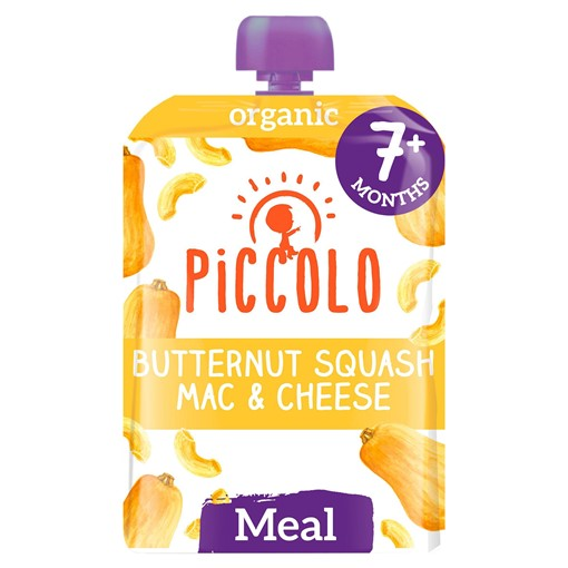 Picture of Piccolo Butternut Squash Mac & Cheese with A Hint of Sage 130g 7 Months+