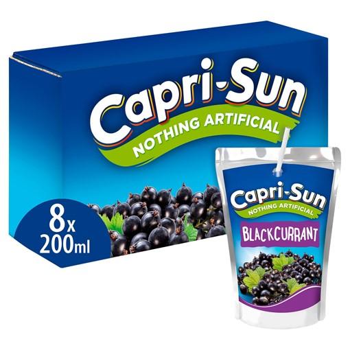 Picture of Capri-Sun Blackcurrant 8 x 200ml