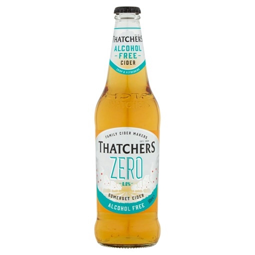 Picture of Thatchers Zero 0.0% Alcohol Free Cider 500ml