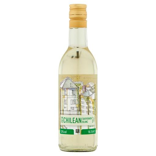 Picture of Co Op Chilean Sauvignon Blanc 18.7cl