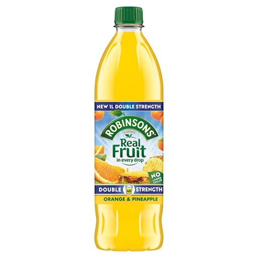 Picture of Robinsons Double Strength Orange & Pineapple No Added Sugar Fruit Squash 1 L