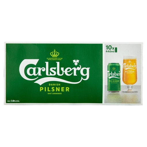 Picture of Carlsberg Lager Beer 10 x 440ml