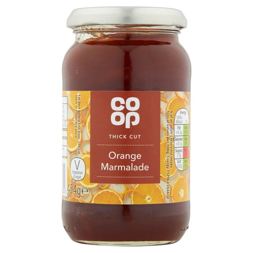 Picture of Co Op Thick Cut Orange Marmalade 454g