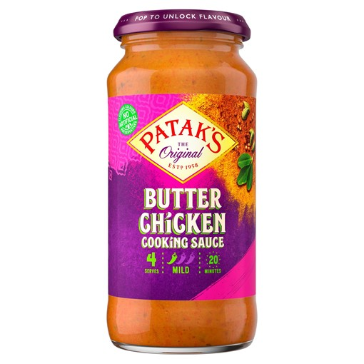 Picture of Patak's The Original Butter Chicken Cooking Sauce 450g