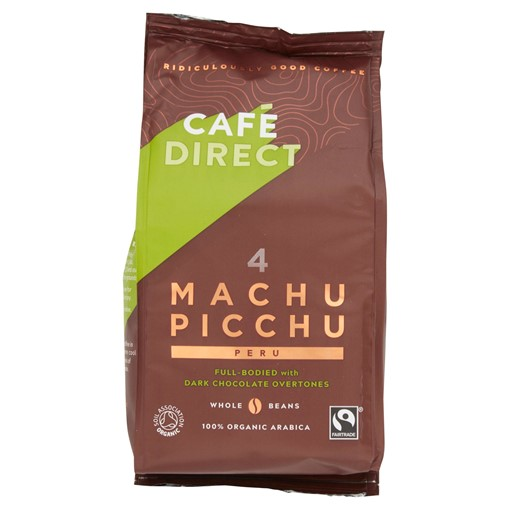 Picture of Cafédirect Fairtrade Machu Picchu Peru Whole Beans 227g