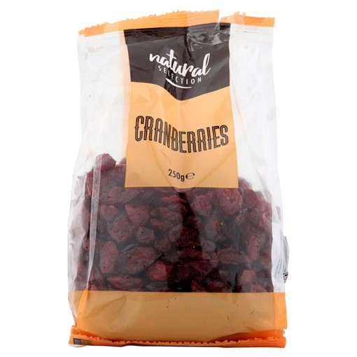 Picture of Natural Selection Cranberries 250g