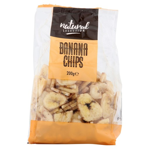 Picture of Natural Selection Banana Chips 200g