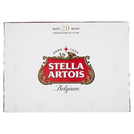 Picture of Stella Artois Bottle 20X284ML