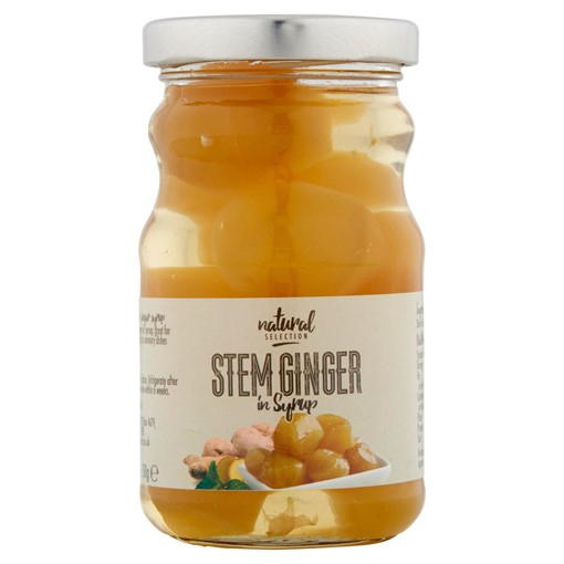 Picture of Natural Selection Stem Ginger in Syrup 280g