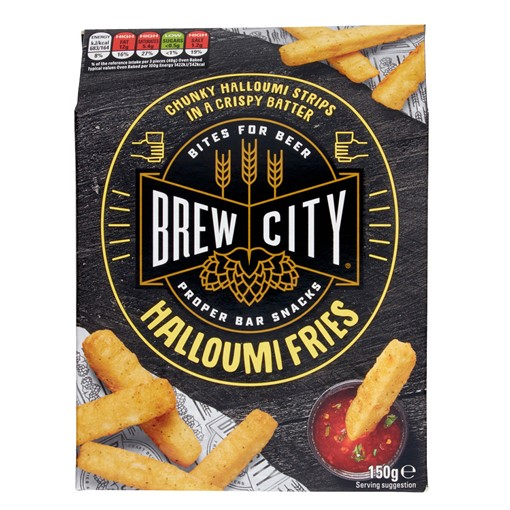 Picture of Mccain Brew City Halloumi Fries 150