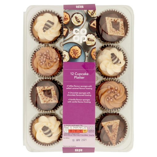 Picture of Co-op 12 Cupcake Platter
