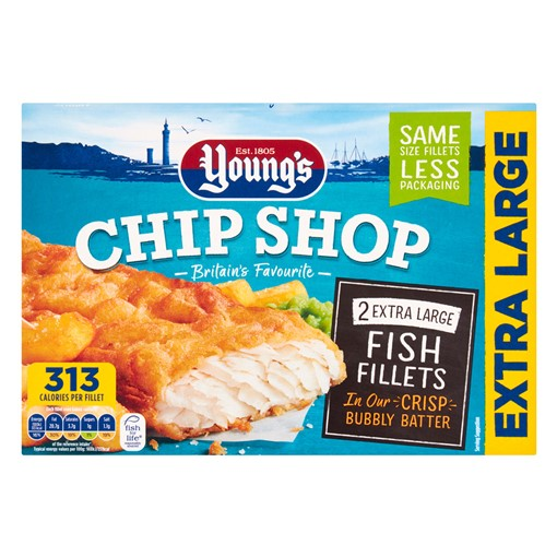 Picture of Youngs Chip Shop 2 Extra Large Fish