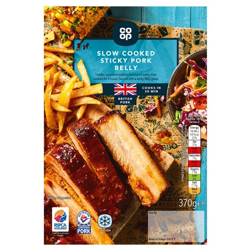 Picture of Co-op Slow Cooked Sticky Pork Belly 370g