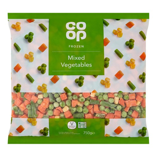 Picture of Co-op Mixed Vegetables 750G