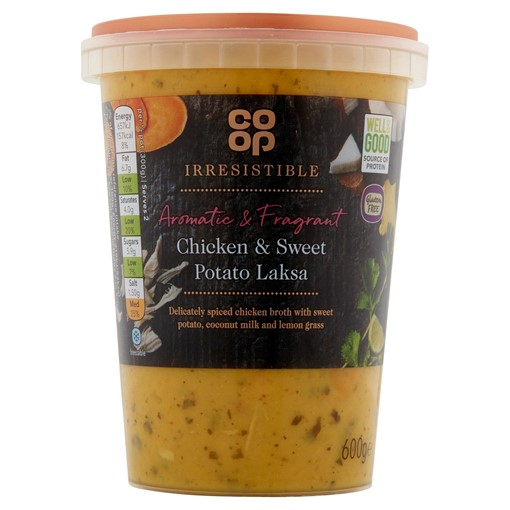 Picture of Co-op Irresistible Chicken & Sweet Potato Laksa 600g